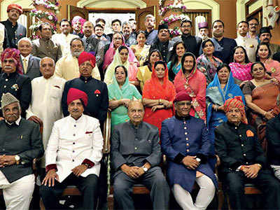 A royal assembly
