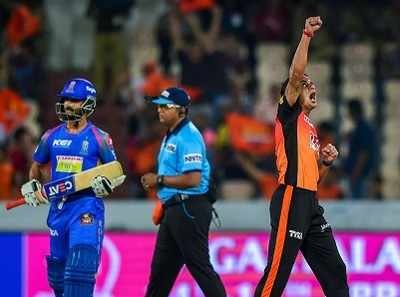Highlights, Sunrisers Hyderabad vs Rajasthan Royals, IPL 2018: SRH beat RR by 9 wickets with 25 balls left