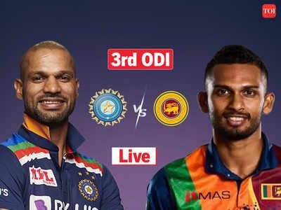 Cricket Score, India vs Sri Lanka 3rd ODI: Sri Lanka beat India by 3 wickets