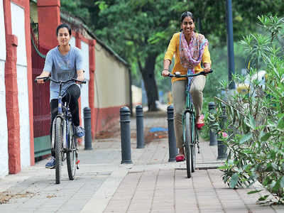 Bengaluru to get better footpaths and bicycle tracks in four months