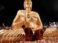 Bhopal: Buddhist community members celebrate the 2563rd birth anniversary of Lord Buddha
