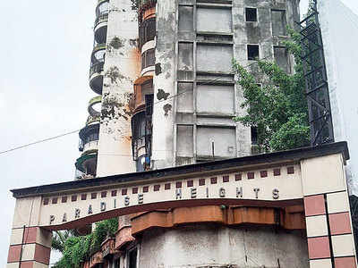 Infighting delays repairs at Thane's oldest tower Paradise Heights