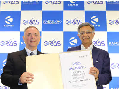 Kalyani – Rafael joint venture gets USD 100 million order for making missile components