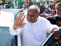JD(S) patron Deve Gowda to contest from Tumkur