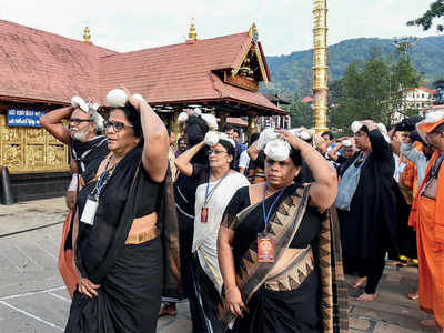 52-yr-old woman heckled by devotees at Sabarimala