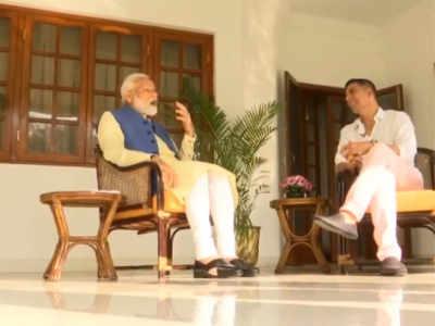 """I do not express my anger as it leads to negativity,"" PM Modi tells Akshay Kumar"