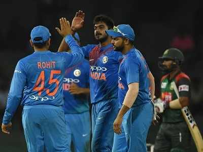 Nidahas Trophy: India vs Bangladesh 2nd T20: Shikhar Dhawan, Vijay Shankar shine as India beat Bangladesh