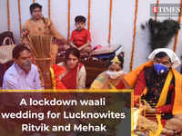 A lockdown waali wedding for Ritvik and Mehak