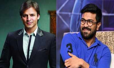 FIFA World Cup: Vivek Oberoi and Ram Charan bond over football in Hyderabad