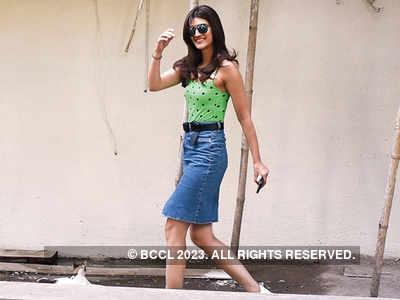 Spotted: Kriti Sanon in Juhu