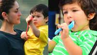 Kareena Kapoor doesn't allow Taimur Ali Khan to eat in birthday parties