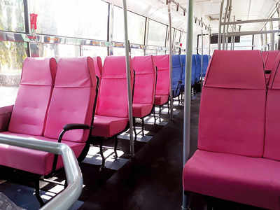 It's easy now: Men can stay off pink seats