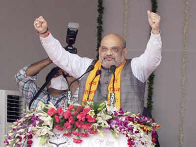 BJP will return to power in UP with massive majority:  Home minister Amit Shah