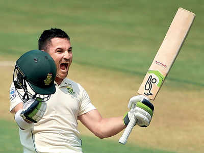 India vs South Africa, 1st Test: Dean Elgar, Quinton de Kock hit tons as SA fight back on Day 3