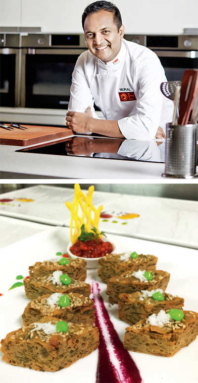 The Charkop chef with a Michelin touch
