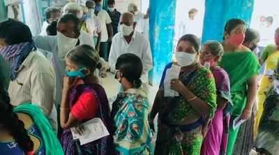 Telangana, Karnataka byelections 2021 live updates: Nagarjuna Sagar assembly constituency records 88 per cent voting till 7 pm