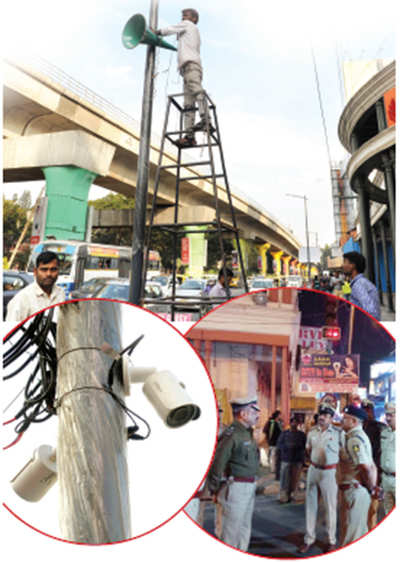 New Year's Eve resolution of Bengaluru police: A safer party on Brigade Road