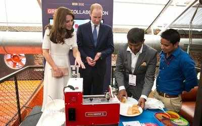 When the British Royalty made a Dosa!
