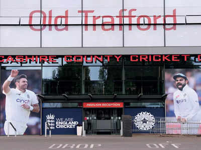 Virus shadow over 5th test, India cancel training session