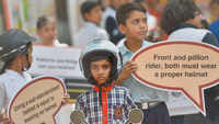 Future drivers pick up road safety lessons