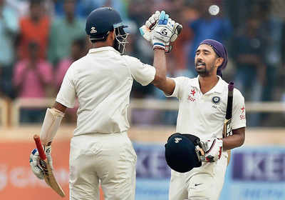 Saha shuts up doubters with gritty century