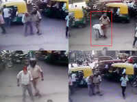 Lucknow: Cop assaults auto driver, CCTV footage sends him jail
