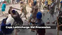 Cops lathicharge Eid procession in Madhya Pradesh's Dhar for violation of guidelines