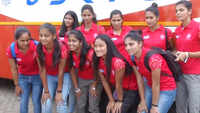 Indian women hockey team arrives for two-week national camp in Bhubaneswar