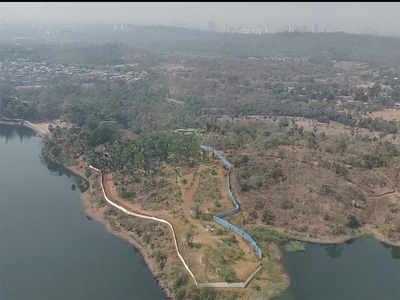 A plot on Vihar Lake