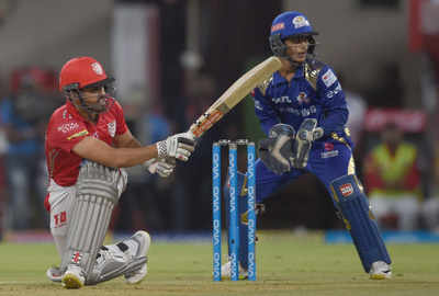 MI vs KXIP IPL 2018 Live Cricket Score: Mumbai Indians vs Kings XI Punjab, Live Score from Wankhede Stadium: Mumbai Indians won by 3 runs