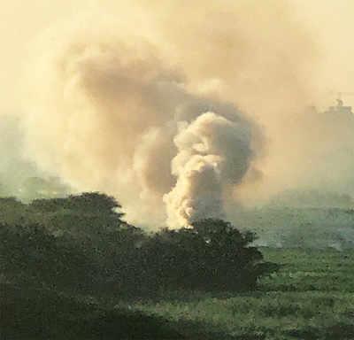 What is Bellandur smoking?