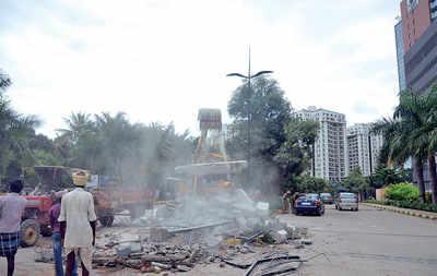 Demolition causes uproar
