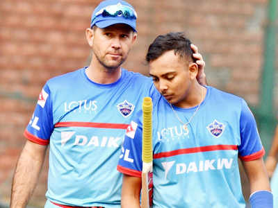 Ricky Ponting: Prithvi Shaw looked me in the eye and refused to bat in the nets