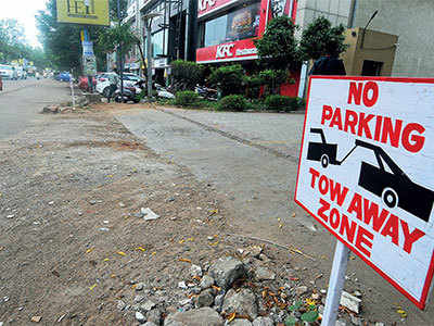 No-parking signs spring up in city
