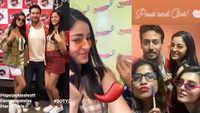 Tiger Shroff, Ananya Panday and Tara Sutaria's fun moments