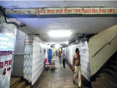 BMC to check sub-standard work at Churchgate subway