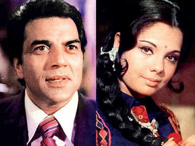 Mumtaz's fishy treats for Dharmendra