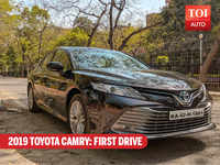 2019 Toyota Camry: First drive