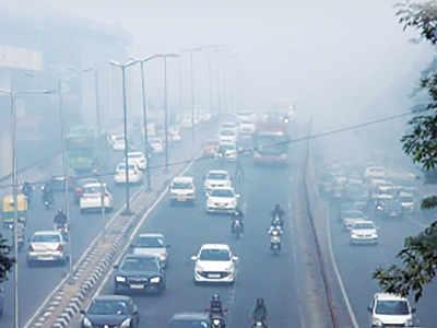 Delhi air quality down to 'poor'