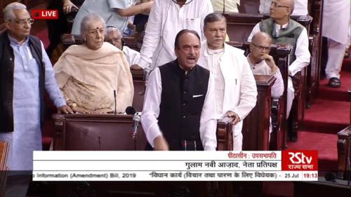 Parliament session live updates: Rajya Sabha passes Right to