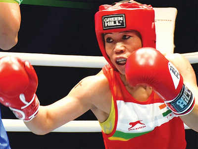 Mary Kom gives it her all, goes down fighting