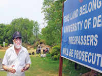 Row over land for DU's women's college