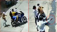Watch: Trader fired at in broad daylight in Rajasthan's Kota