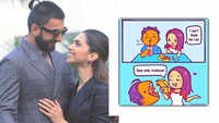 Deepika Padukone calls hubby Ranveer Singh a 'trashcan'