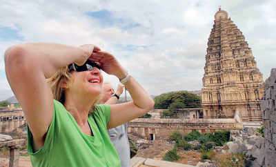 Karnataka: Hampi Temple to have a dress code in place
