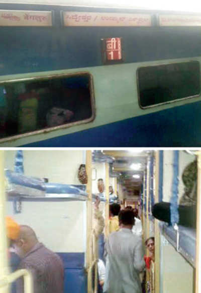 Bugged by bedbugs, passengers hold up train