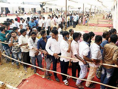 City beats its lethargy marginally, polls 55%; all constituencies, except Mumbai South, shows a significant increase