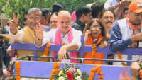 Actor Anupam Kher campaigns for wife Kirron Kher