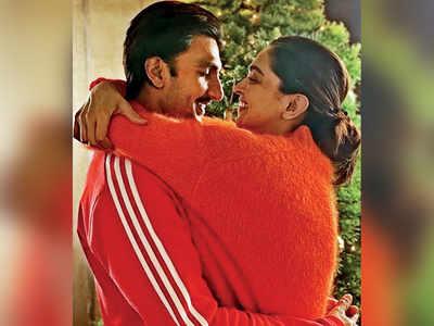 Deepika Padukone and Ranveer Singh are decking the halls