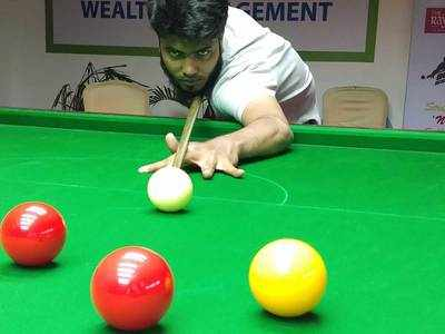 Anas scores a big win in Gujarat State Open Ranking Snooker and Billiards Tournament